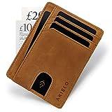 AKIELO Wallet | Minimalist Card Wallet - RFID Blocking Credit Card Holder