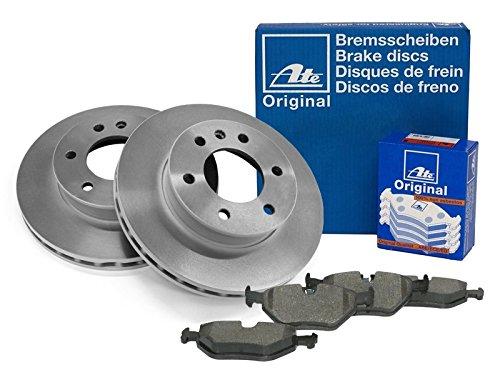 Preisvergleich Produktbild Bremsen Set inkl. Bremsscheiben & Bremsbelagsatz (Vorderachse) von ATE (1420-22312) u.a. / Bremsanlage
