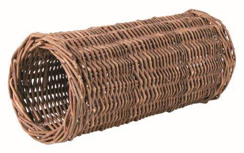 Trixie 62832 Weidentunnel für Meerschweinchen, ø 15 × 33 cm