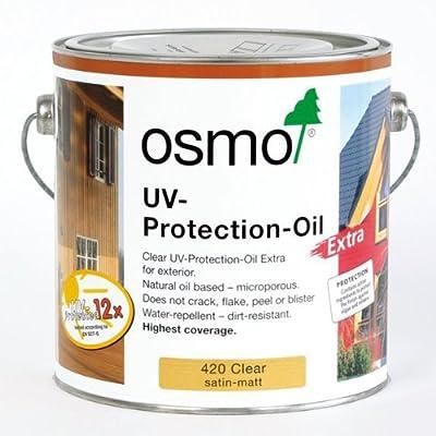 OSMO UV-Schutz-Öl Extra 420 Farblos seidenmatt 750ml von OSMO auf TapetenShop