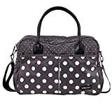 bébé-jou 310030 Wickeltasche mit auflage, grey Dots