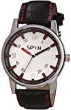 SPYN Analog White Dial Casual Men's Wris...