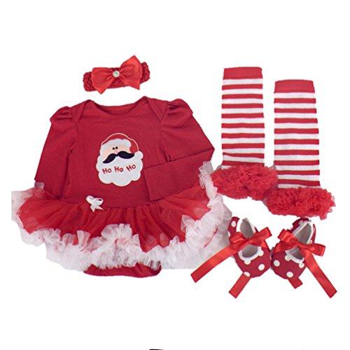 NPK EIN Anzug Tutu Röcke für 20 - 22 Zoll Puppen Geburtstag Baby Puppe Kleid Baby Mädchen Kleidung Schuh Stirnband Socken Weihnachten