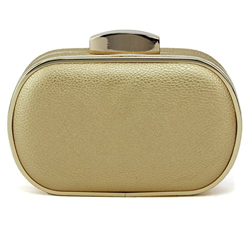 Signore Il Sacchetto Del Pranzo In Metallo Personalizzata Cava Signore Della Borsa Trousse Gold