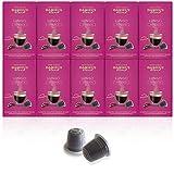 DANIELS BLEND - 100 Capsule Caffè Compatibili con Macchina Nespresso - LUNGO
