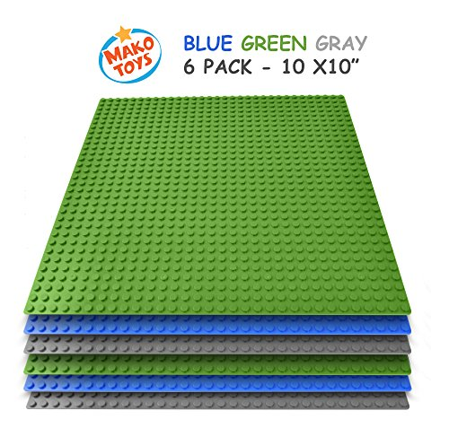 building-base-plates-compatible-baseplates-6-pieces-of-10-x-10-in-blue-green-and-gray-works-with-maj