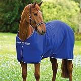 Horseware Amigo Turnout Hero 6 Medium 200g Füllung Regendecke Atlantic Blue with Ivory 115-160 (145)
