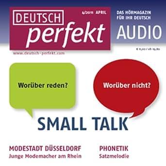 deutsch perfekt audio small talk 4 2011 h rbuch download div spotlight verlag. Black Bedroom Furniture Sets. Home Design Ideas