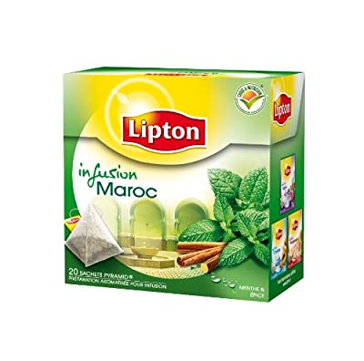 Lipton Infusion Maroc Menthe Epices 20 Sachets 40 g