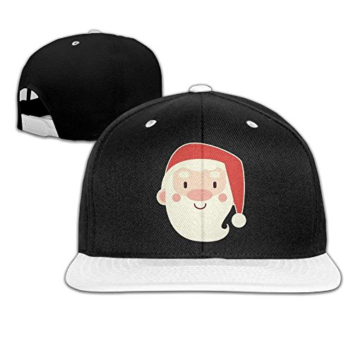 Wfispiy Plain Logo Baseball Cap Trucker Dad Hat Hip Hop Christmas Kindly Santa Claus -
