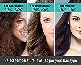 Havells HS4152 Hair Straightener with Titanium Coated Plates (Golden)