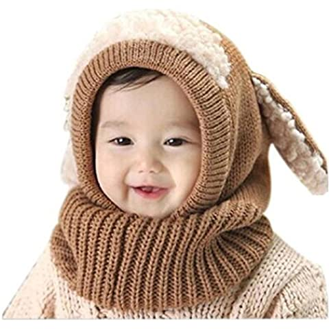 Oyedens Oyedens Fotografia Bebes Newborn Photography Props El Bebé Del Invierno Para NiñOs Muchachos De Las NiñAs Woolen Cofia De La Capilla De La Bufanda Capsula Los