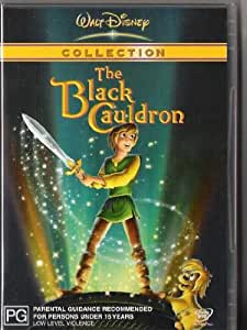 THE BLACK CAULDRON WALT DISNEY DVD PAL (R4) AUSTRALIAN FORMAT