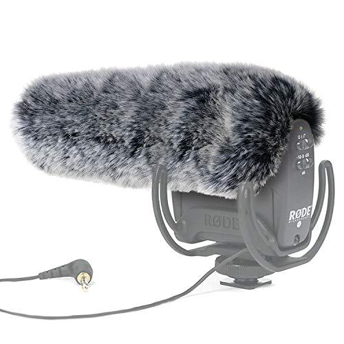 YOUSHARES microfono DEADCAT paraBrezza-outdoor vento scudo MIC paraBrezza manicotto pelliccia personalizzato per Rode VideoMic Pro fotocamera microfono