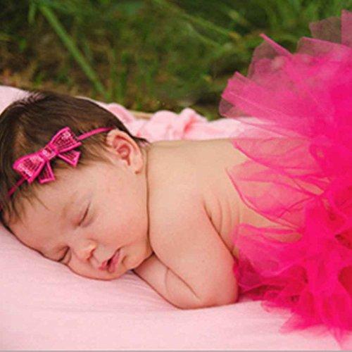 Aiming Nette Prinzessin Neugeborene Fotografie Props Baby-Kostüm-Ausstattung mit - Neugeborene Prinzessin Kostüm
