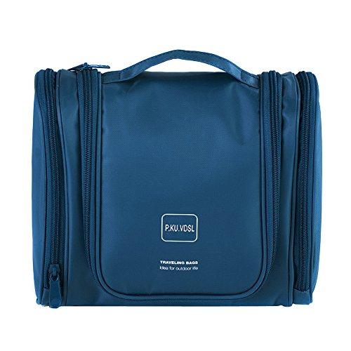 Borse da toeletta p.ku.vdsl, kit per la toilette appendente, bagno igienico impermeabile per gli uomini e le donne - kit cosmetici portatili per trucco cosmetico travel