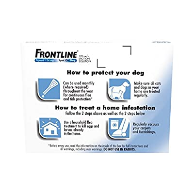 Frontline Spot On for Medium Dogs, 10-20kg, 3 Pipettes