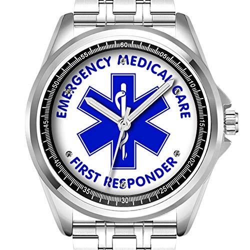 Personalizzata orologio da uomo moda impermeabile orologio da polso Diamond 482.emergency Medical Care First Respo