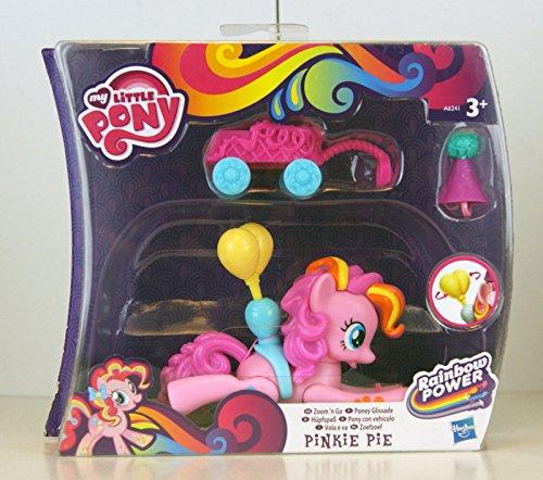 My Little Pony - Rainbow Power - Zoom´n Go - Hüpfspaß - Pinkie Pie - fliegendes Pony mit Wagen