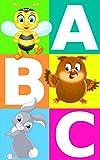 Alfabeto ABC con imágenes de animales | aprendiendo para niños | colorear: ABC un libro para niños con juegos al final