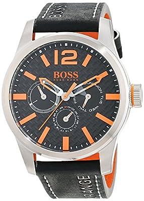 Hugo Boss Orange 1513228 - Reloj de pulsera analógico para hombre (correa de piel, esfera con subdiales) de BOSS Orange