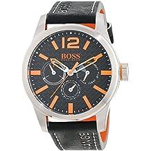 Hugo Boss Orange 1513228 - Reloj de pulsera analógico para hombre (correa de piel, esfera con subdiales)