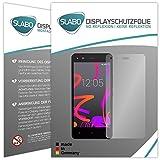 2 x Slabo Displayfolie für BQ Aquaris M4.5 Displayschutzfolie Zubehör