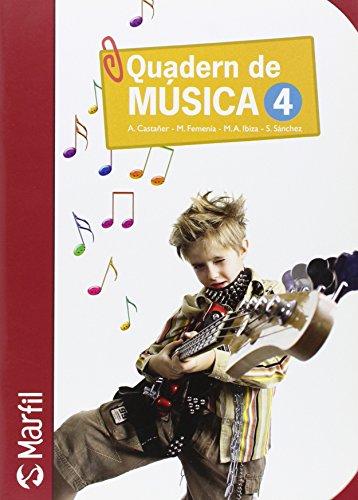 Quadern de Música - 4 (Educación Primaria) - 9788426815187