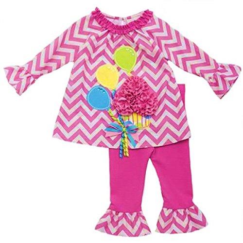 Counting Daisies Entzückendes Ballon/Cupcake Set~ Tunika + Legging Gr. 80,86,92 Größe 74 -