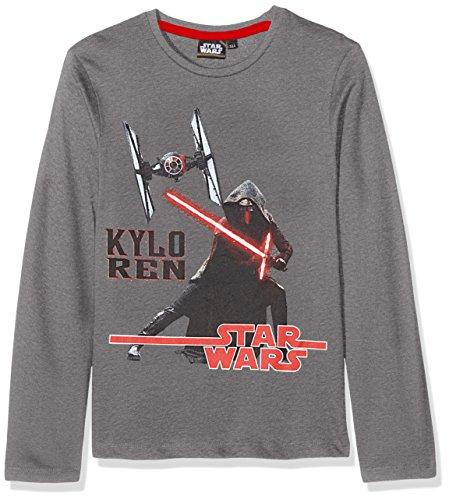 STAR WARS HQ1038 Sweat-Shirt, Gris (Grey 011), 6 Ans Garçon