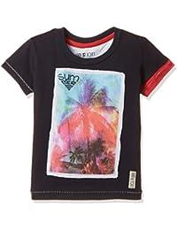 Gini & Jony Boys' T-Shirt (121246515042 C656_NAVY(C656)_2)