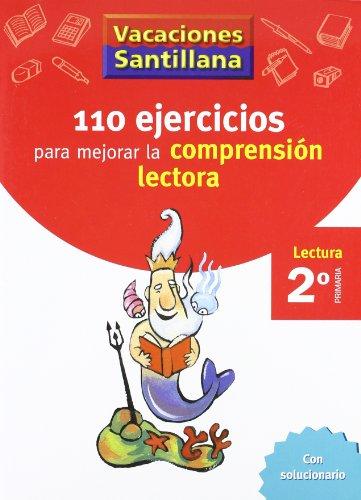 110 ejercicios para mejorar la comprensión lectora 2º primaria por Unknown.