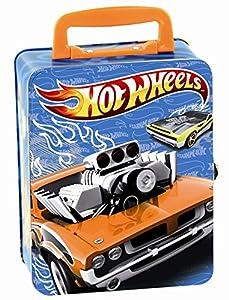 Theo Klein 2883 - Hot Wheels Autosammlerkoffer aus Metall von Theo Klein