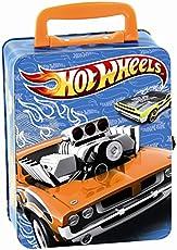 Theo Klein 2883 - Hot Wheels Autosammelkoffer aus Metall für 18 Autos