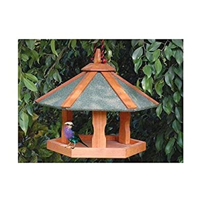 Cheeko Hanging Bird Table, 18 x 16-Inch by Cheeko