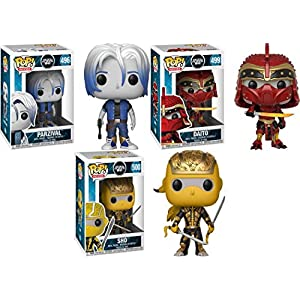 Funko POP Ready Player One Parzival Daito Shoto Stylized Movie Vinyl Figure Bundle Set NEW