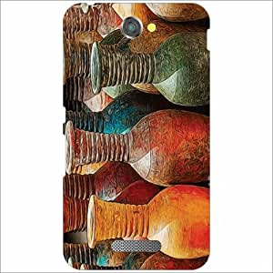 Sony Xperia E4 Back Cover - Abstract Designer Cases