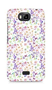 Amez designer printed 3d premium high quality back case cover forHuawei Honor Bee (water pastel flowers)