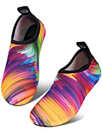 Kids Beach Swim Shoes Infant Water Shoes Toddler Barefoot Skin Baby Boys Girls Aqua Socks for Pool Garden