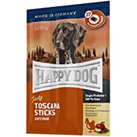 Happy Dog Tasty Toscana Sticks With Duck Pure Comida para Perros - 30 gr