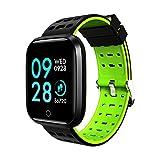 ELAINE Smart Armband, Gesundheitsüberwachung 1,3 Zoll Touch Screen Personal Fitness Tracker Wasserdicht Schrittzähler Herzfrequenz Aktivität Tracker Watch