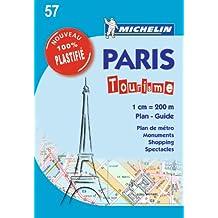 Plan Paris Tourisme Plastifié Michelin