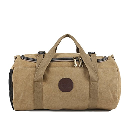 Mode-taschen/Tragbare Großraum-gepäcktasche/Reisepaket/Fitness-paket-braun A
