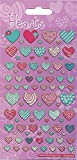 Paper Projects 01.70.04.028 Pattern Hearts Sticker Pack