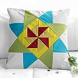 [Windmühle Muster] dekorative Kissen Hauptsofa / Bett Leinwand Kissen - 2