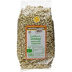 Werz Vollkorn-Dinkel gepufft ungesüßt, 5er Pack (5 x 150 g Beutel) - Bio