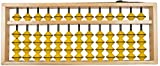 Djuize 13 Rod Teacher Abacus Yellow Bead...
