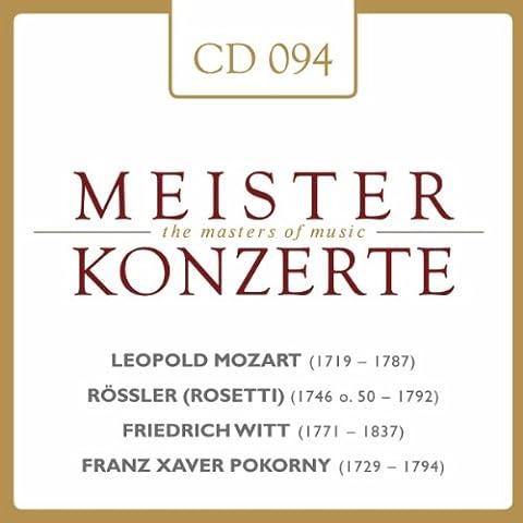 Concerto F-Dur für 2 Hörner, Streichorchester, 2 Flöten**: Larghetto poco Andante
