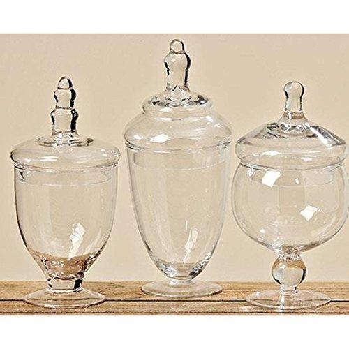 Vorratsglas Kia H22-26 Material: Glas klar 3 Stück