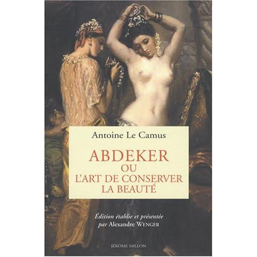 Abdeker, ou l'art de conserver la beauté
